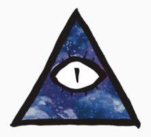 cosmic eye of providence by HiddenStash