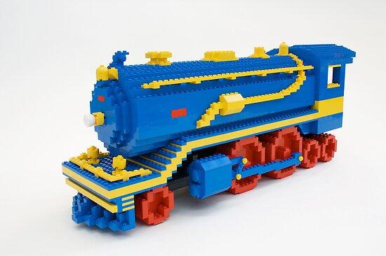 LEGO Train Engine by Sean Kenney