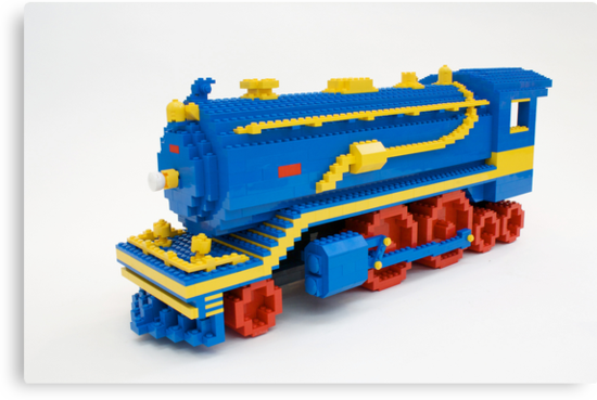 LEGO Train Engine by Sean Kenney