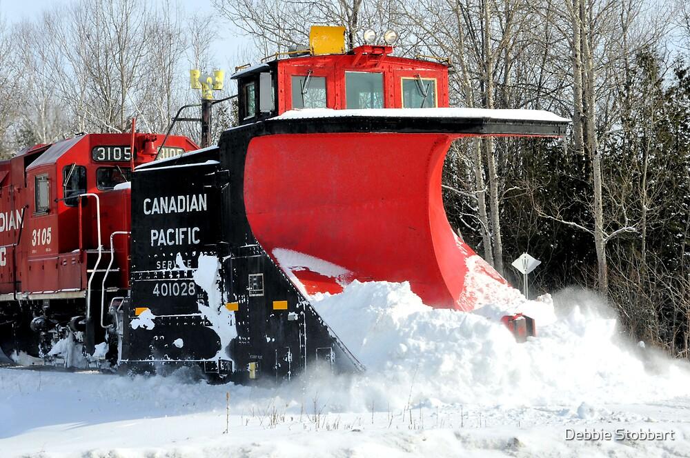 Snow Plow by Debbie Stobbart