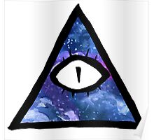 cosmic eye of providence Poster
