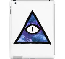 cosmic eye of providence iPad Case/Skin