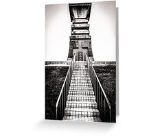 Historic monument in Taiwan Greeting Card