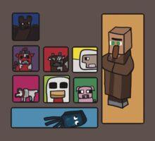 Minecraft Peaceful Mobs Baby Tee