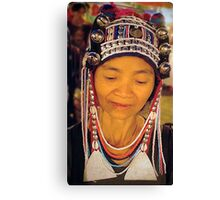 Bead seller, Chiang Mai Thailand Canvas Print