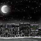 NY city night by Tristan Klein