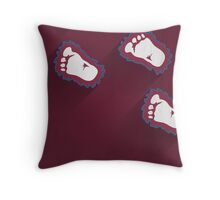 Colorado Avalanche Minimalist Print Throw Pillow