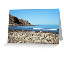 Tide's out. Greeting Card