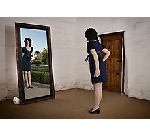 Through the looking-glass Photographic Print