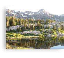 Sunny Lake Canvas Print