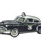 Cop Car by Tristan Klein