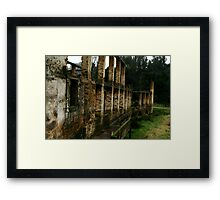 Fragile Reality Framed Print