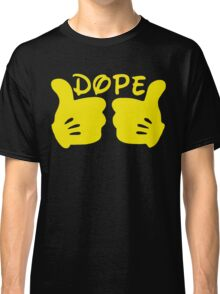 Dope Thumbs Up [Yellow] Classic T-Shirt
