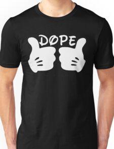 Dope Thumbs Up [White] Unisex T-Shirt