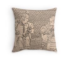 Chit-chat Throw Pillow