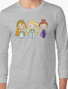 Thumbelina, Odette, and Anastasia - Lil' CutiEs Long Sleeve T-Shirt