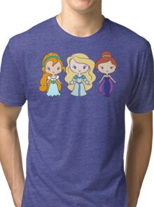 Thumbelina, Odette, and Anastasia - Lil' CutiEs Tri-blend T-Shirt