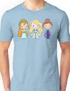 Thumbelina, Odette, and Anastasia - Lil' CutiEs Unisex T-Shirt