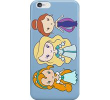 Thumbelina, Odette, and Anastasia - Lil' CutiEs iPhone Case/Skin