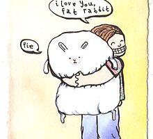 Fat Rabbit by lauriepink