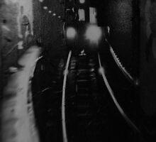 Train Graffiti by Craig Maguire