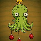 Christmas cephalopod by Richard Morden