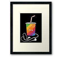 iCup Framed Print