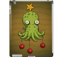 Christmas cephalopod iPad Case/Skin