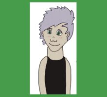 Lilac Michael Clifford  Baby Tee