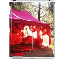 Red Tent Welcome iPad Case/Skin