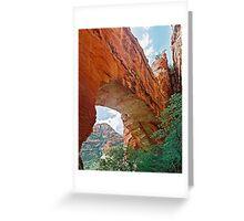 Fay Canyon Arch, Sedona, Arizona Greeting Card