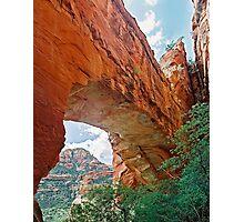 Fay Canyon Arch, Sedona, Arizona Photographic Print