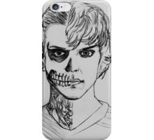 Tate - darkness sketch iPhone Case/Skin
