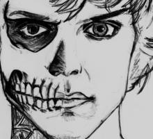 Tate - darkness sketch Sticker