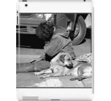 Man´s Best Friend iPad Case/Skin