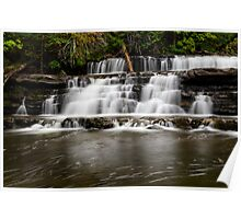 Stair Falls Poster
