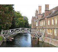 Mathematical Bridge Photographic Print