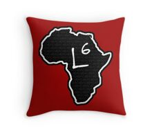 The Haplogroup in You - L6 Throw Pillow