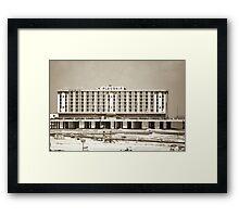 Flagship Hotel Framed Print