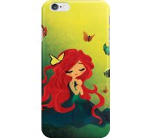 This Girl only Sleeps with Butterflies iPhone Case/Skin