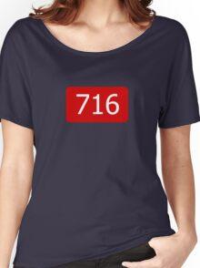 716 (Buffalo!) Women's Relaxed Fit T-Shirt