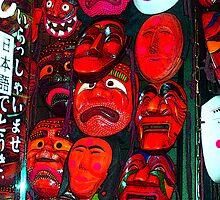 Masks - Seoul, Korea by Leanne  Thomas