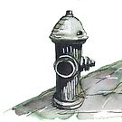 NY Fire hydrant by Tristan Klein