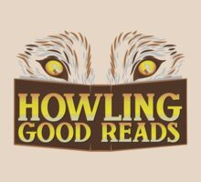 Howling good reads bookstore logo The Others reading series fan art T-Shirt