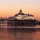 Eastbourne Pier by Kasia Nowak