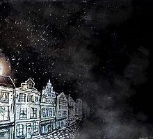 Dark street by Tristan Klein