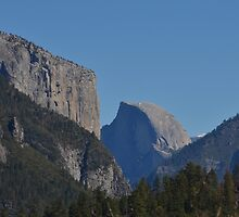 Half Dome, Yosemite by Pete Johnston