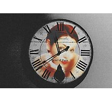 Its about time (collab with WendyL) Photographic Print