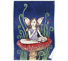 Amethyst Fairy Poster