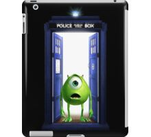 Tardis Monster inc iPad Case/Skin